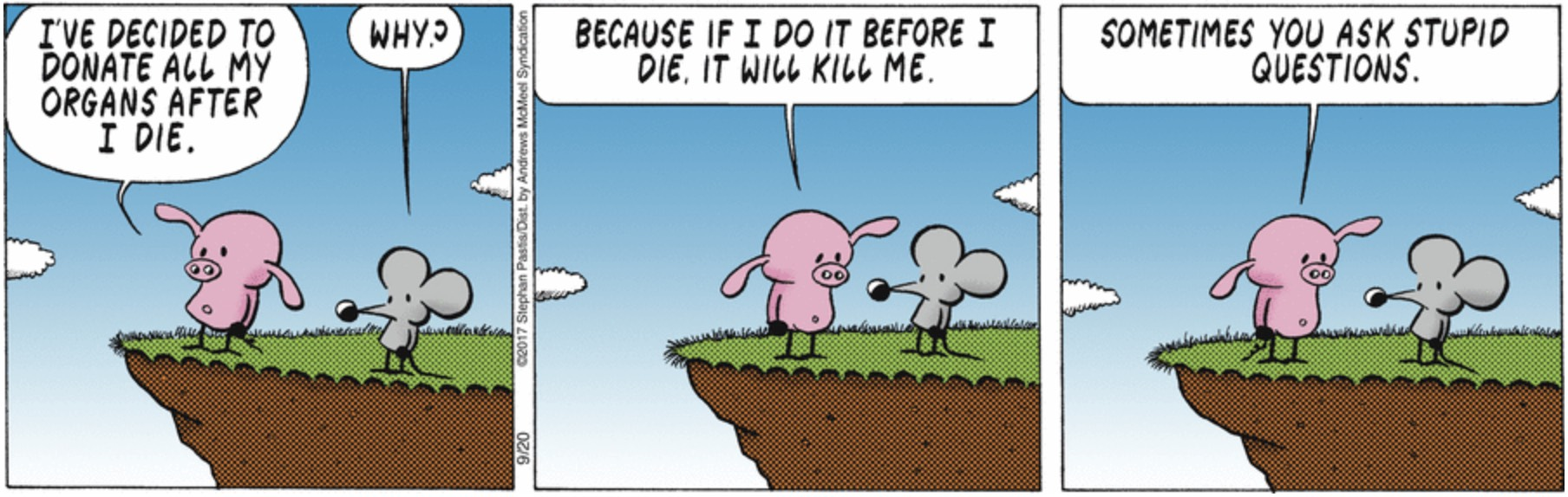 Pearls Before Swine Organ Donation