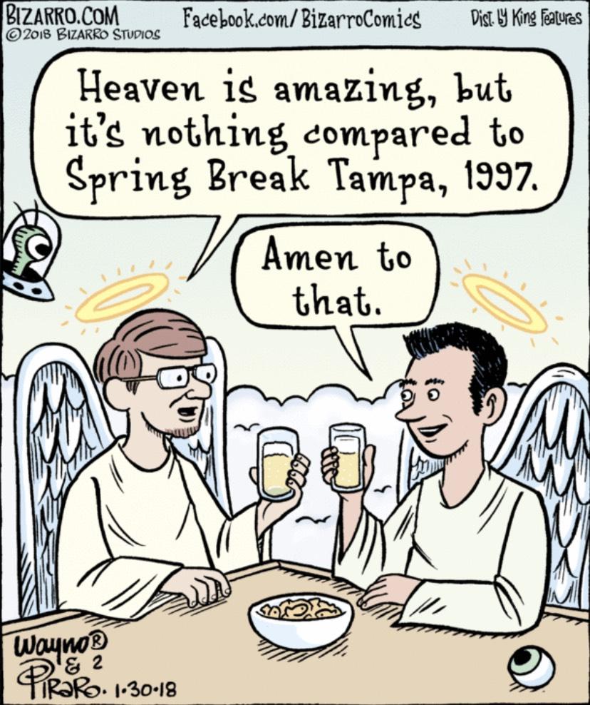 Bizarro Heaven Spring Break