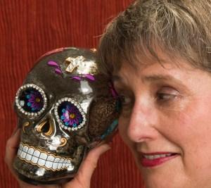 Gail and Sugar Skull