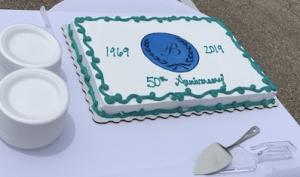 Berardinelli 50th anniversary cake