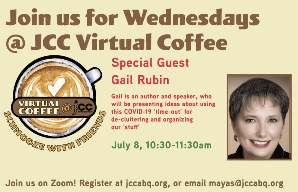 JCC Virtual Coffee info