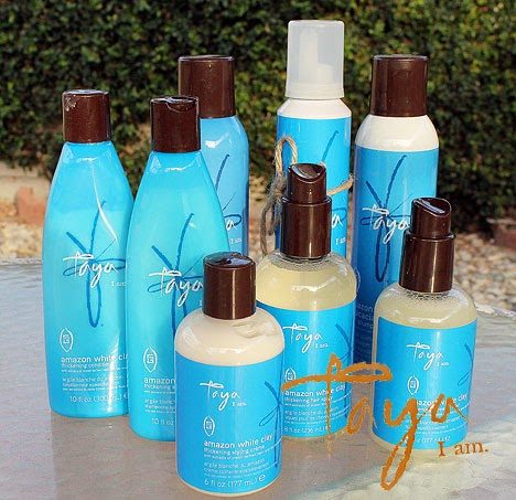 TAYA Amazon White Clay Hair Product Review + Giveaway