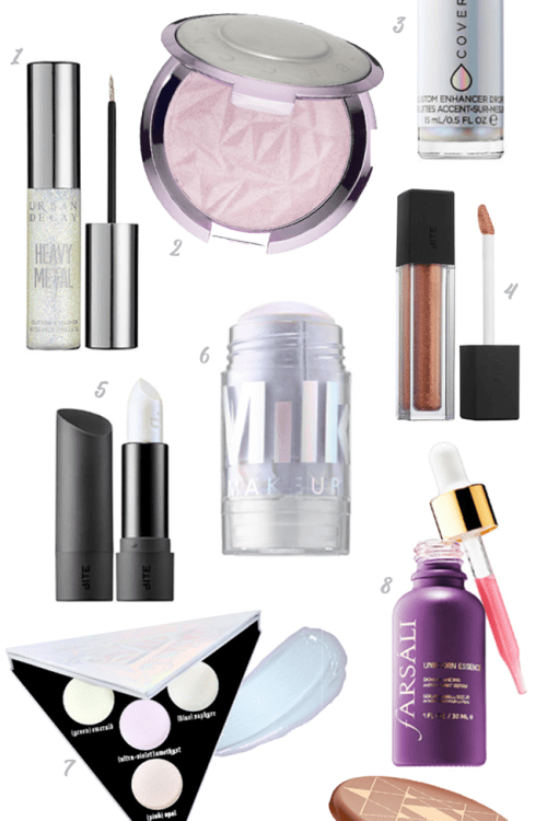 Holographic Makeup Must-Haves