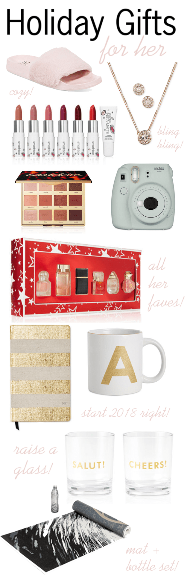 Holiday Gift Guide:  Gifts For Her, Under $100