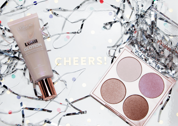 New Year's Eve Glowing Makeup Look with L'Oreal Lumi