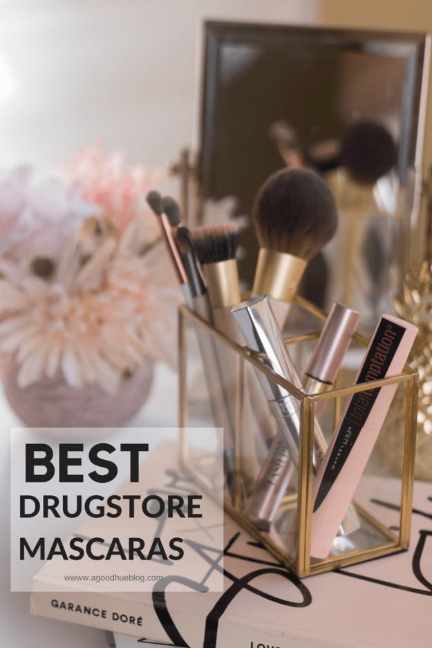 Best Drugstore Mascara: Maybelline Total Temptation, Physicians Formula Killer Curves Mascara, L'Oreal Lash Paradise | A Good Hue