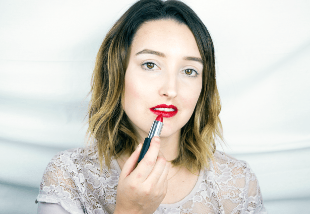 Winter Lipstick Favorites: Glo Skin Beauty Lipstick in Bullseye | A Good Hue