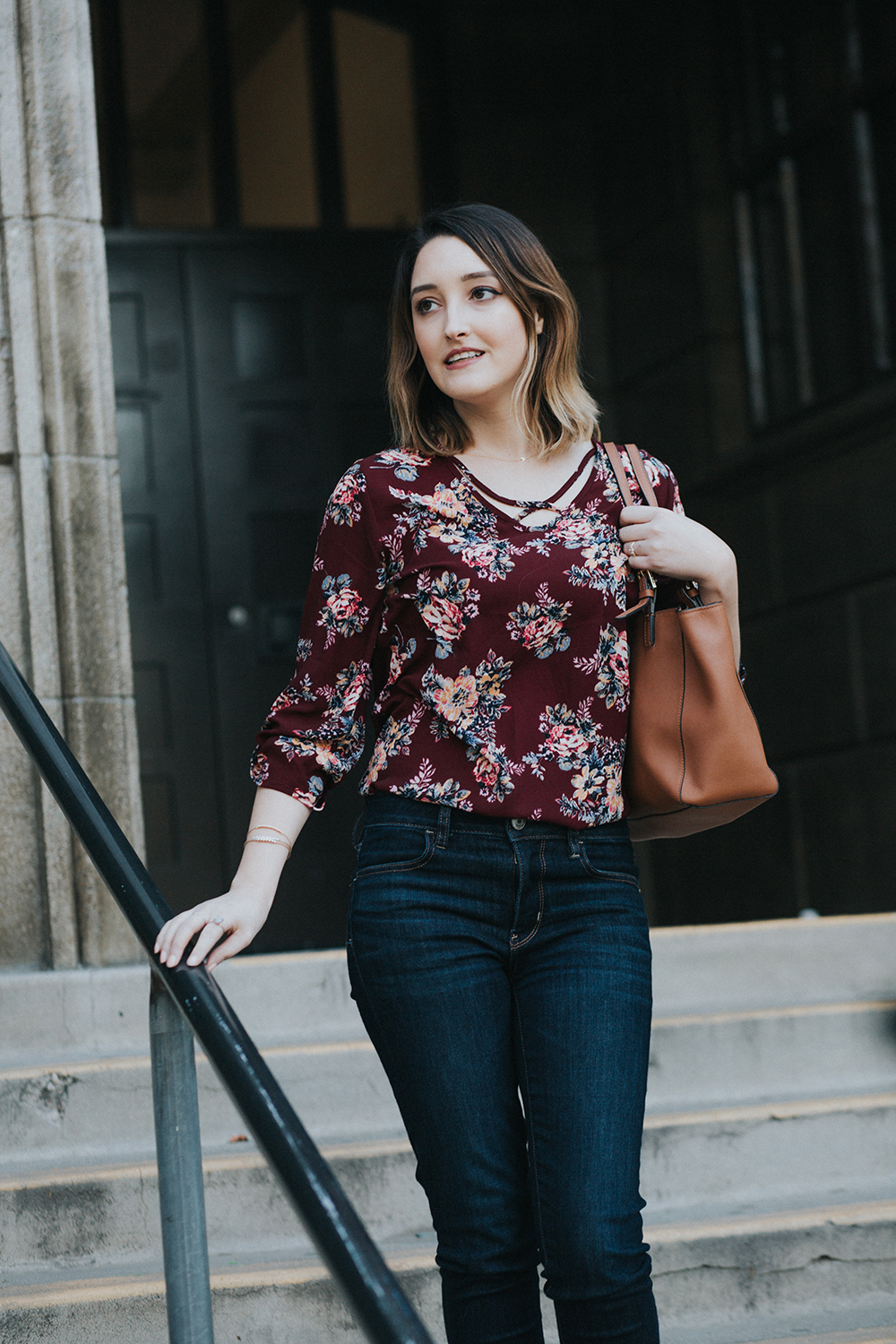 Pre-Spring Floral Outfit   A Good Hue