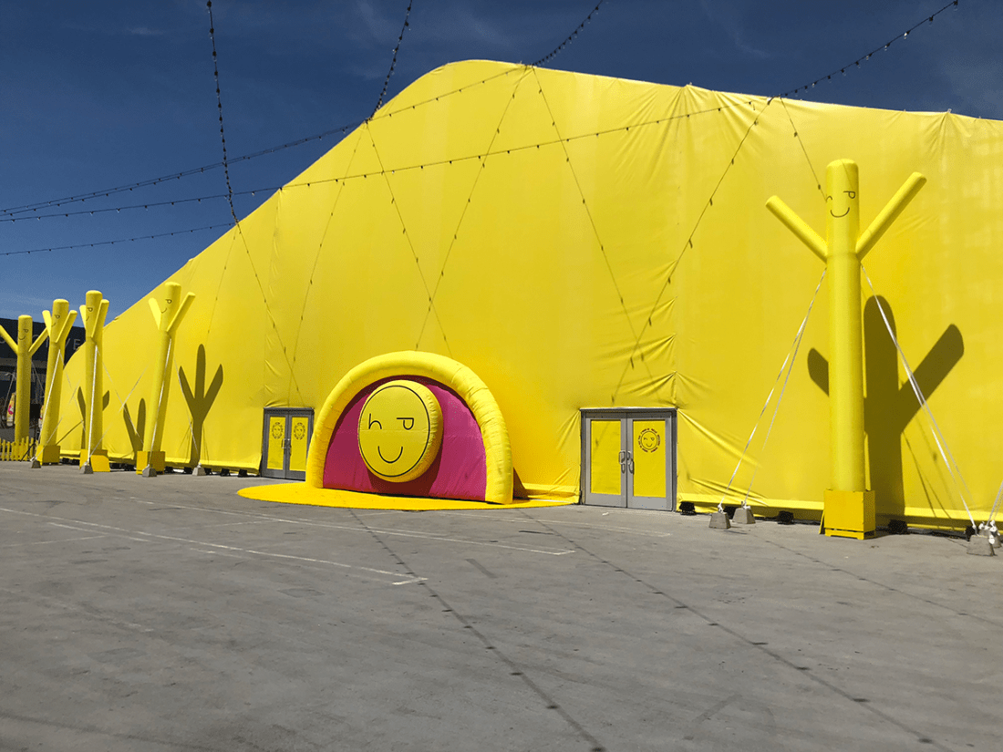 Happy Place Los Angeles Popup | A Good Hue