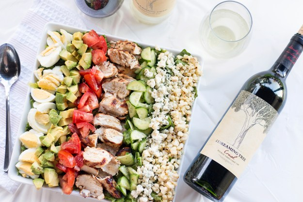 Grilled Cobb Salad with The Dreaming Tree Wines | A Good Hue