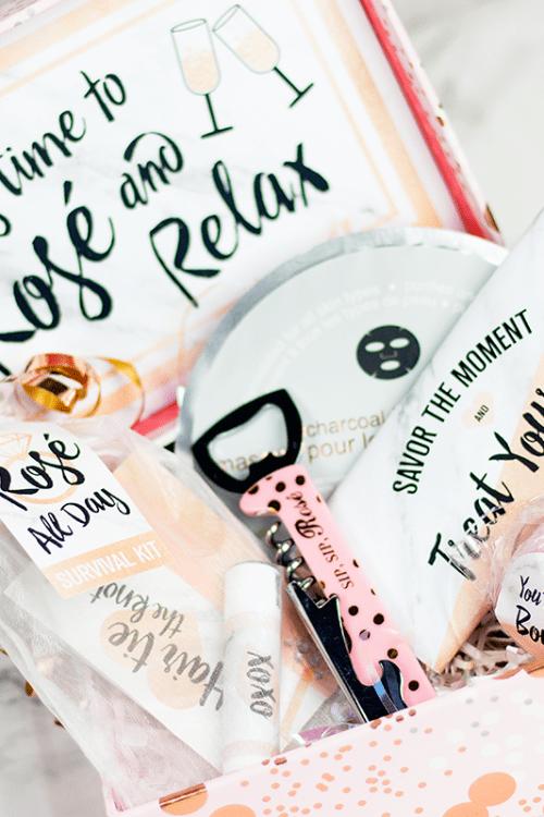 DIY Bridesmaid Gift Box