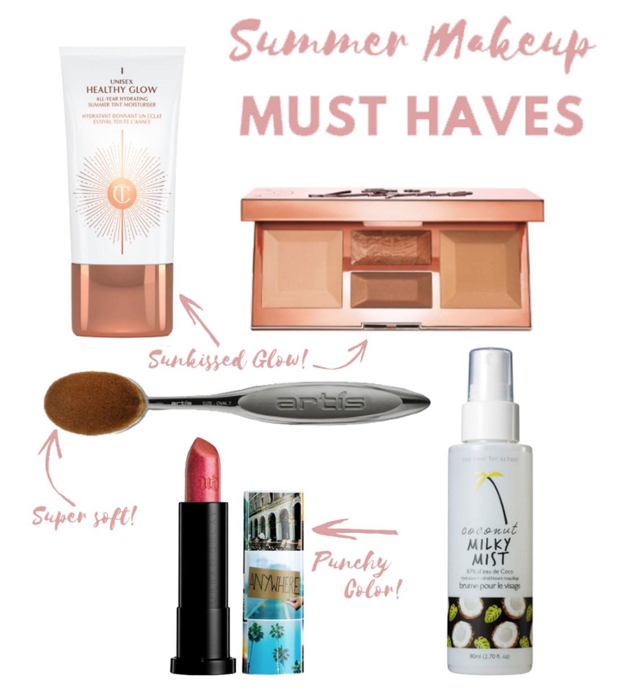 Summer Makeup Must Haves | A Good Hue