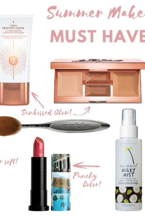 Summer Makeup Must-Haves + Giveaway