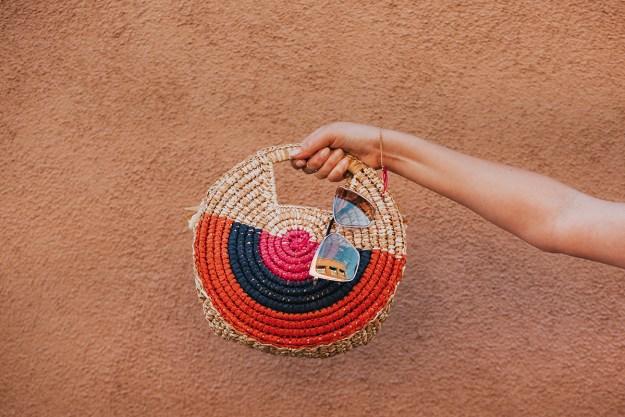 Summer Style Tips: Straw Bag | A Good Hue