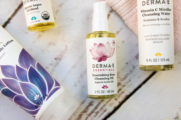 Review: Natural Skincare with Derma E: Rose Cleansing Oil | A Good Hue