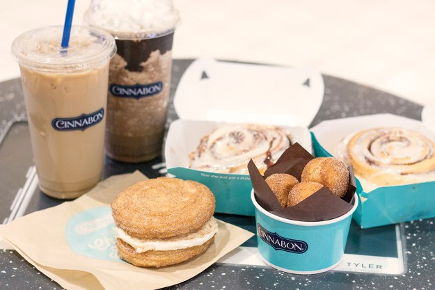 Midday Pick-Me-Up Treats with Cinnabon | A Good Hue