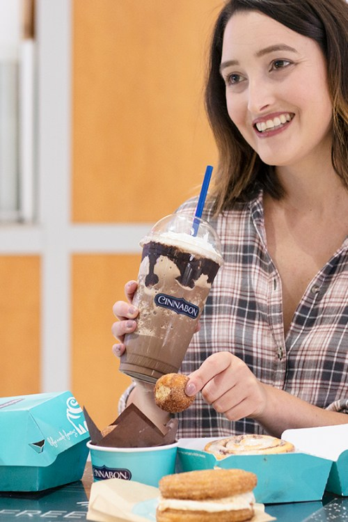 Midday Pick-Me-Up Treats with Cinnabon