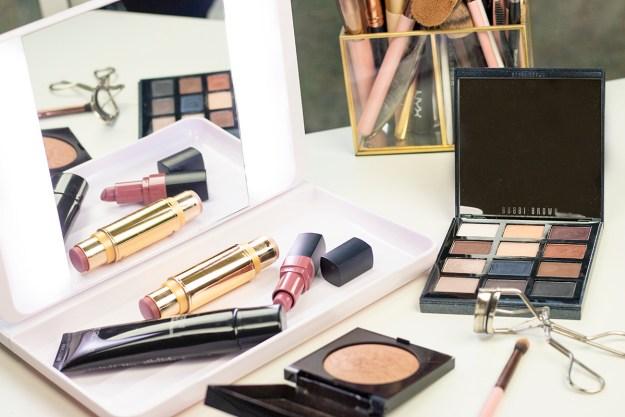 How-To: Soft Copper Fall Makeup Look with J.O.I. Spotlite HD Diamond 2.0 Mirror | A Good Hue