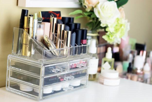 Makeup Organization 101: How I Organize My Beauty Products   A Good Hue