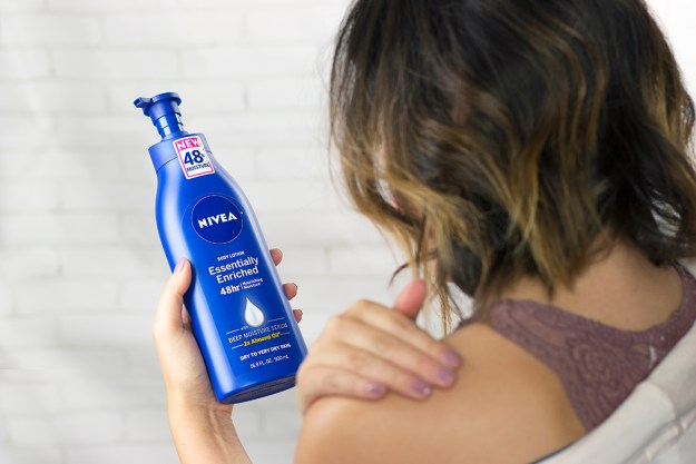 My Head-to-Toe Body Moisturizing Routine with NIVEA Lotion at Rite Aid | A Good Hue