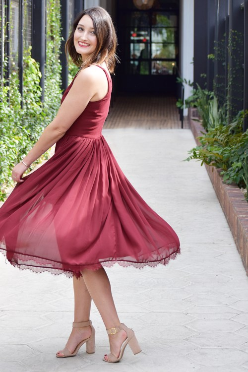 Party Ready with BHLDN Holiday Dress