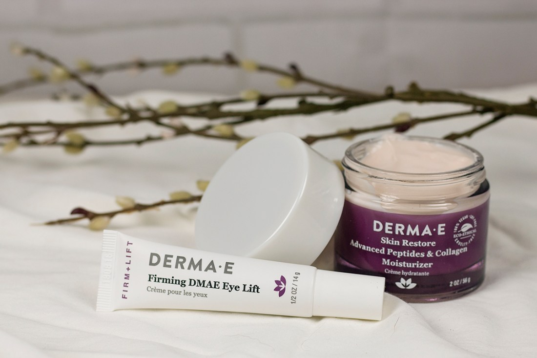 Fave Indie Beauty Skincare: Derma E Eye Lift & Peptide Moisturizer  | A Good Hue