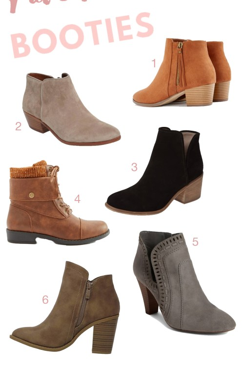 My Fave Fall Booties + GIVEAWAY