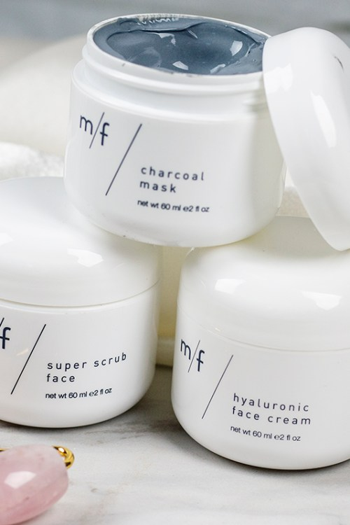 My Spring Skincare Routine with m/f People