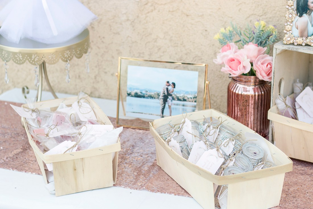 Rosé and Bubbly Bridal Shower DIY Party Favors | A Good Hue