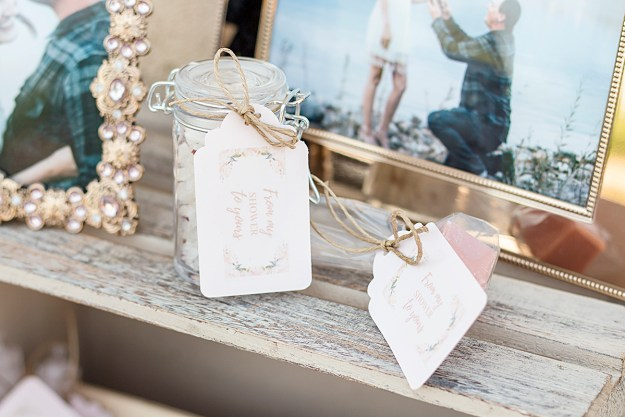 From My Shower to Yours DIY Bridal Shower Party Favors   A Good Hue