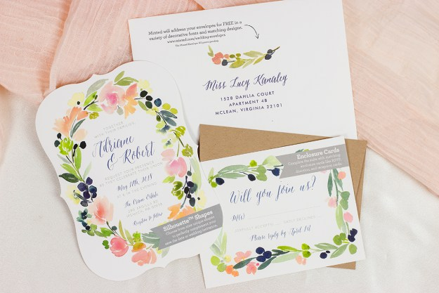 Minted Wedding Invitation Suite | A Good Hue