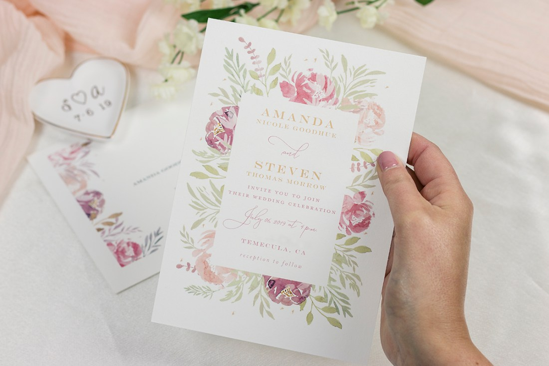Minted Wedding Invitations   A Good Hue