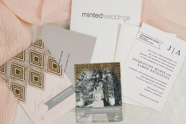 Minted Free Wedding Invitation Sample Pack | A Good Hue