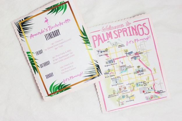 Palm Springs Bachelorette Party | A Good Hue