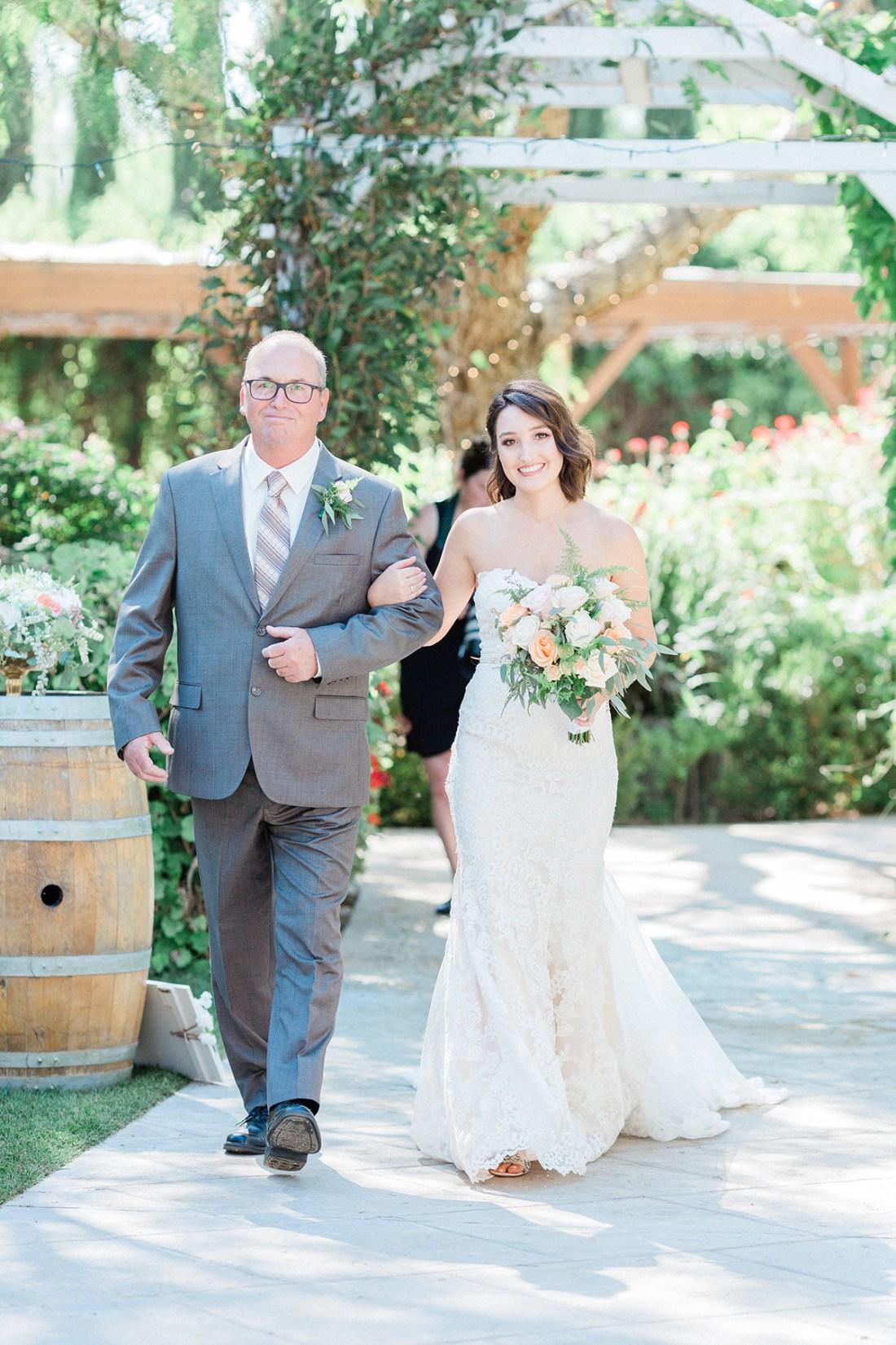 Our Wedding Ceremony- Here Comes the Bride   A Good Hue