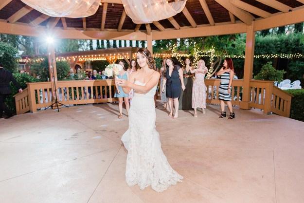 Bride Bouquet Toss | A Good Hue