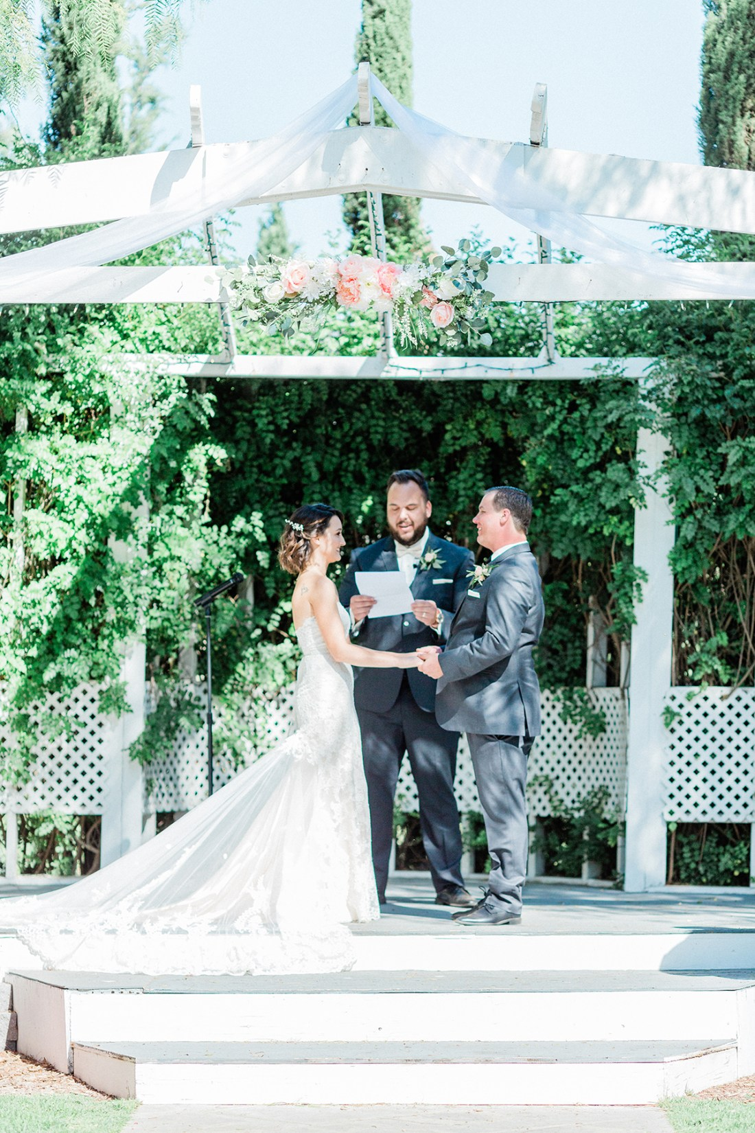 Our Wedding Ceremony at Abbott Manor in Temecula, Calf. | A Good Hue