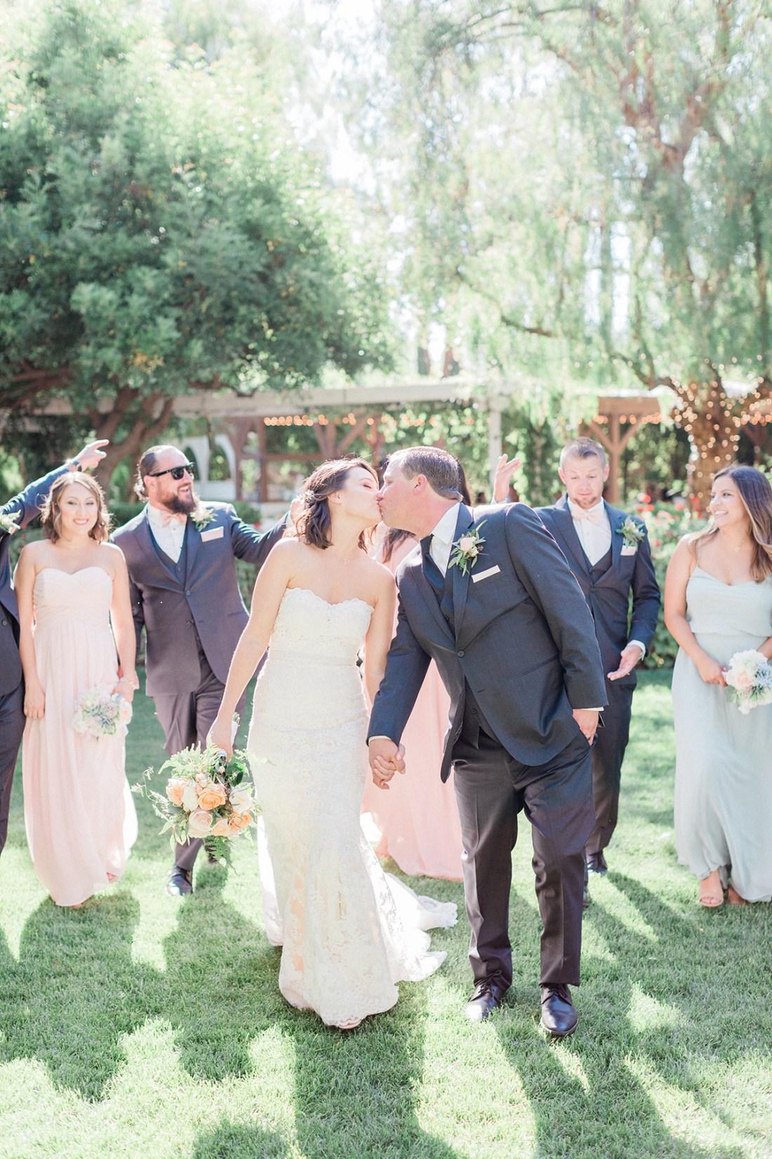 Amanda & Steve's Summer Wedding at Abbott Manor in Temecula, Calf. | A Good Hue