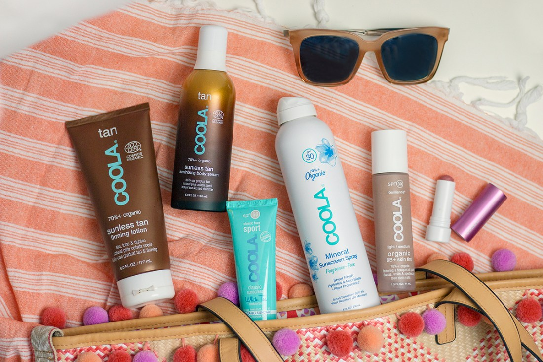 All-Year Sun Protection with COOLA   A Good Hue