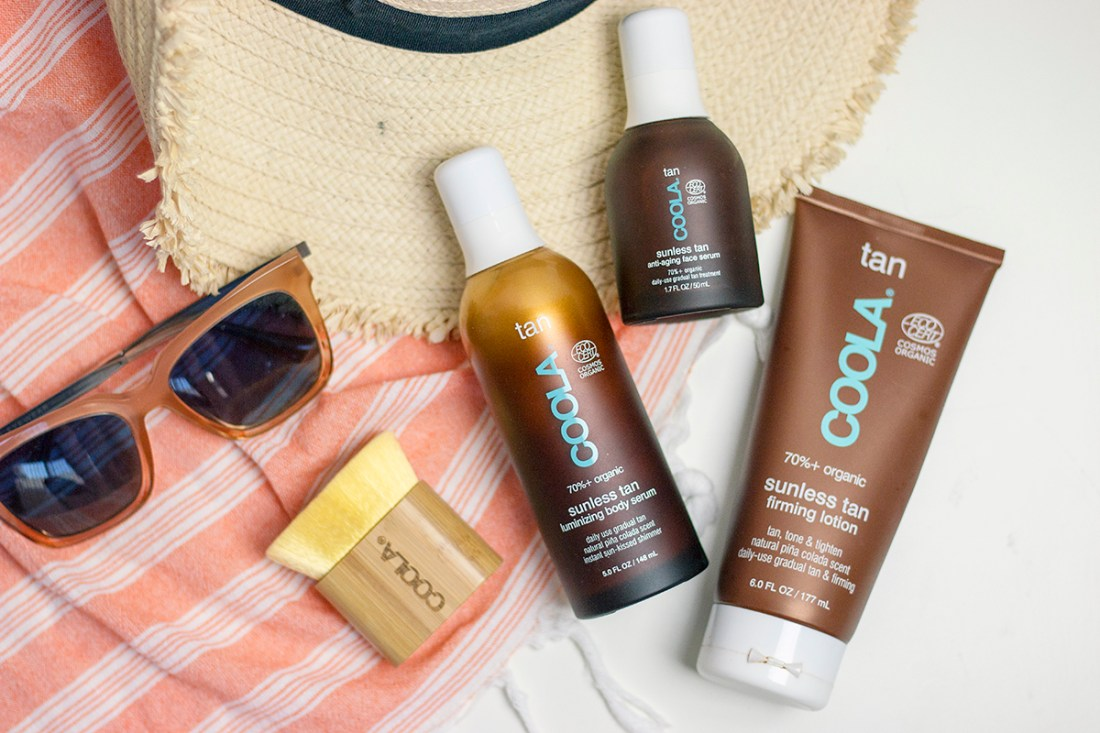 Self-Tanning with COOLA   A Good Hue