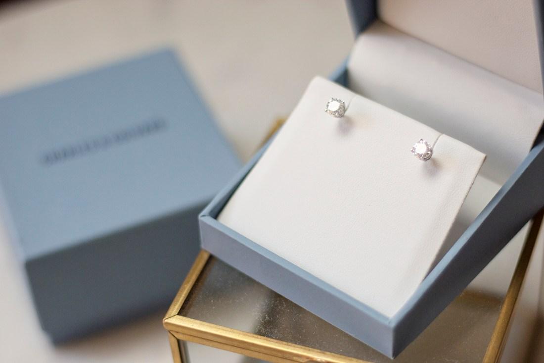 Charles & Covard Moissanite Earrings | A Good Hue