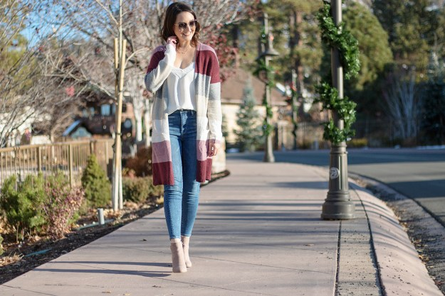 Kohl's Color Block Cardigan | A Good Hue