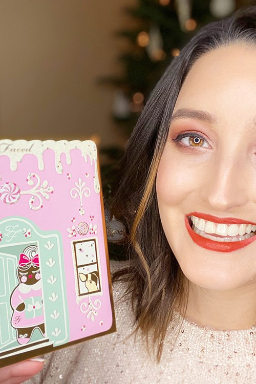 Too Faced Christmas Cookie House Party Review