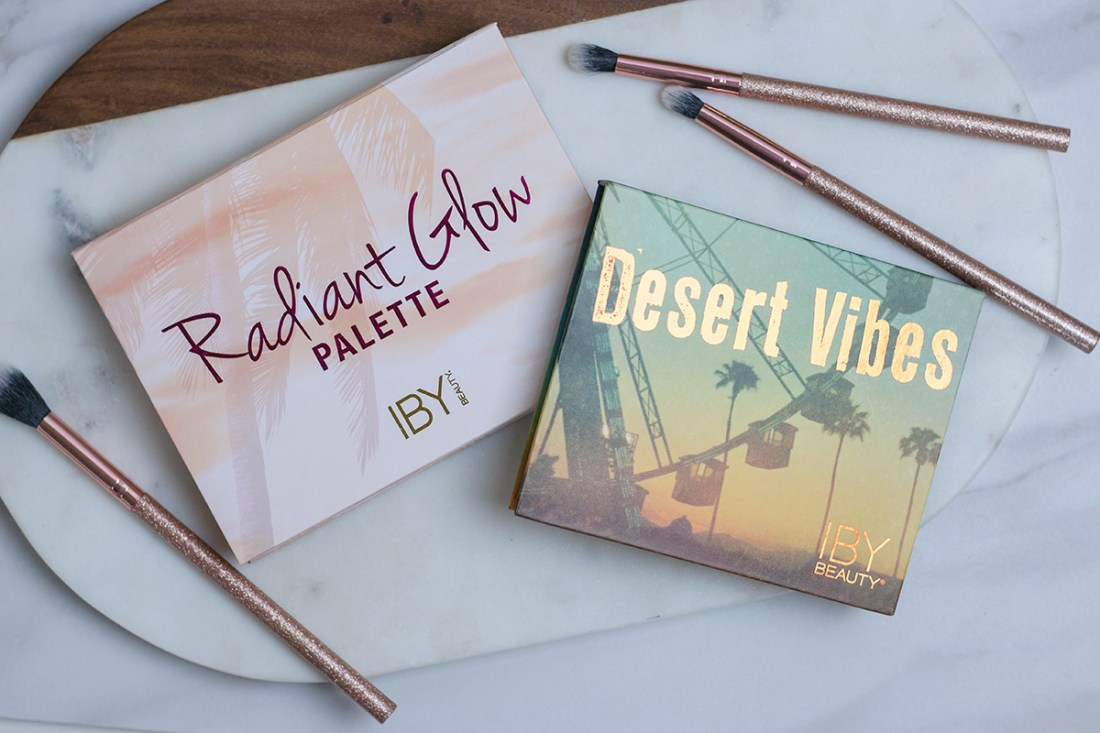 IBY Beauty Radiant Glow Palette & Desert Vibes Eyeshadow Palette | A Good Hue