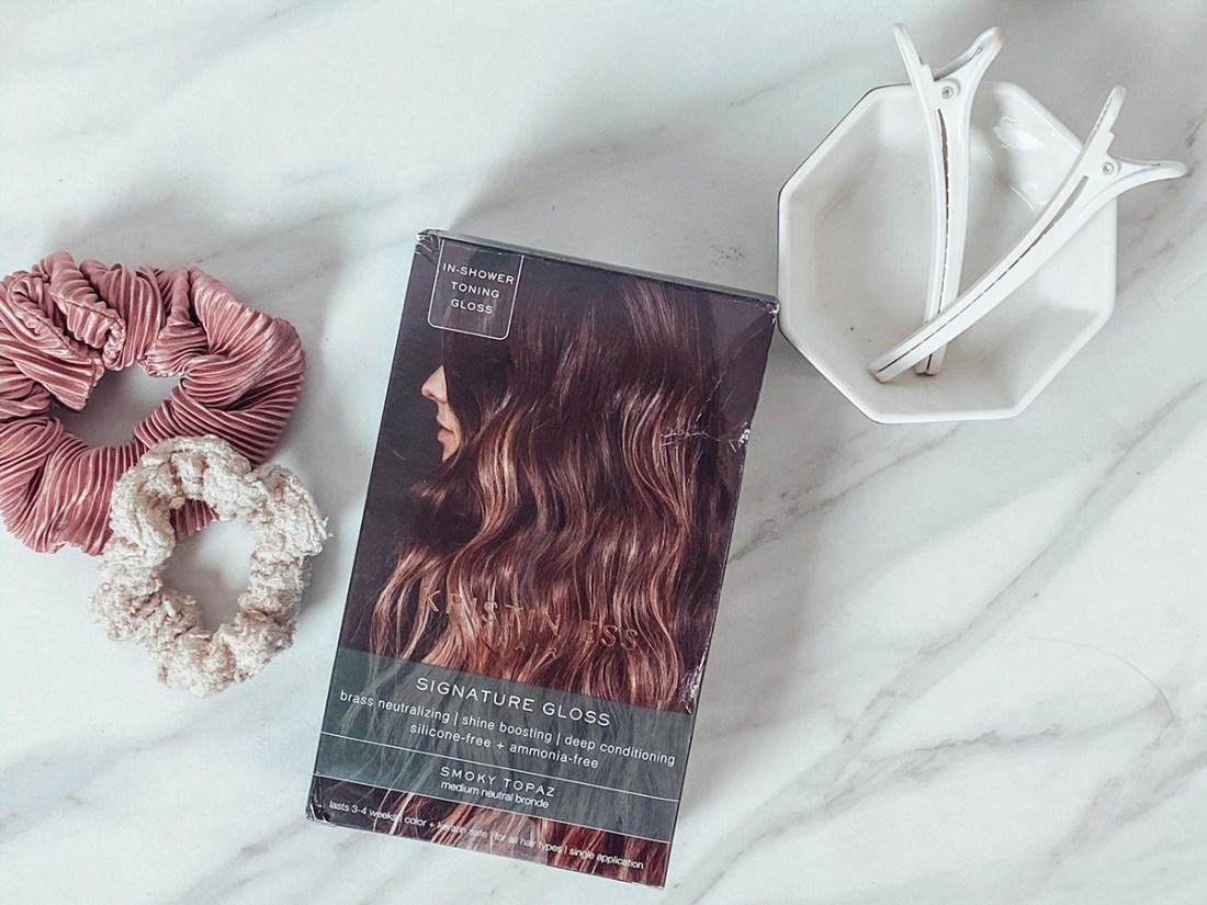 How I Keep My Hair Color Fresh with Kristin Ess Signature Gloss | A Good Hue