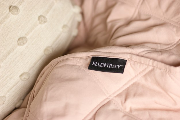 Ellen Tracy Pink Throw Blanket | A Good Hue