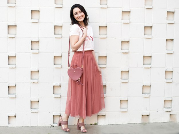 Affordable Valentine's Day Outfit from Kohl's | A Good Hue