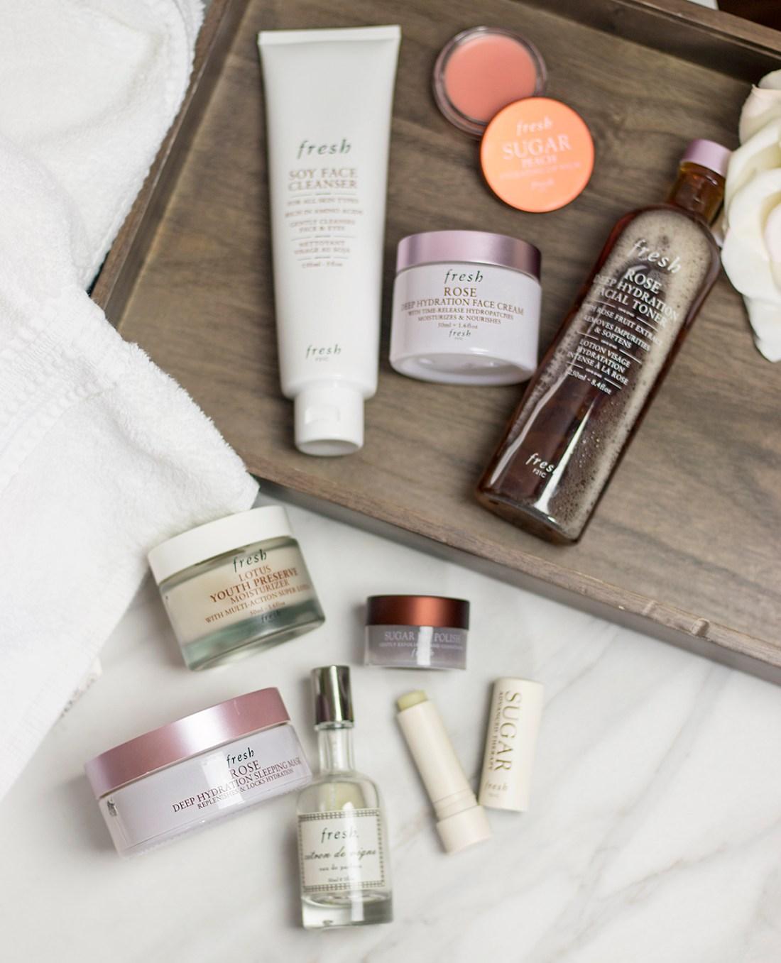 Fresh Beauty Skincare Favorites for Spring | A Good Hue