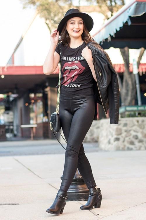 3 Ways to Wear Faux Leather Leggings