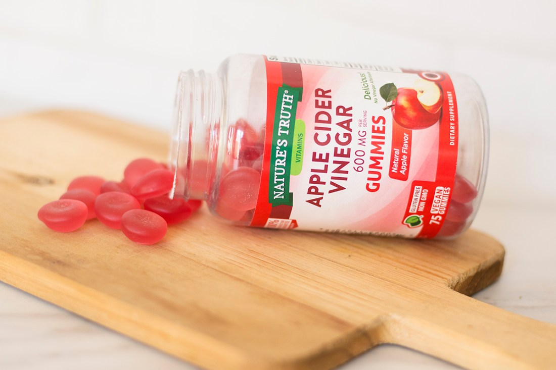 Nature's Truth Apple Cider Vinegar Gummies | A Good Hue